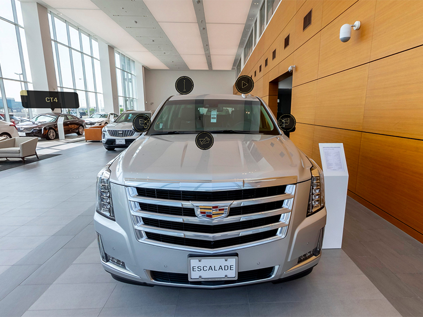 Image presenting Cadillac Qatar 360 Virtual Tour