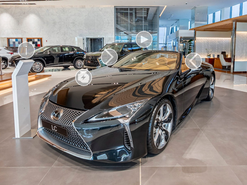 Image of Lexus LC00 by Doha Pano